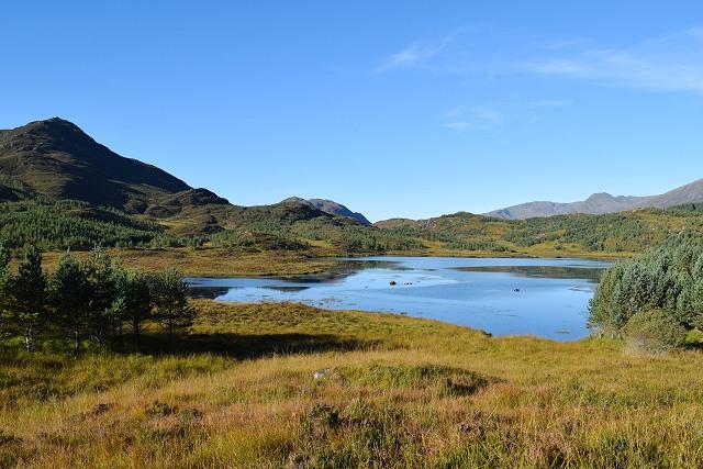 Loch nan Gillean and Creag nan Calman