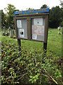 TM1383 : St.Mary the Virgin Church Notice Board by Adrian Cable