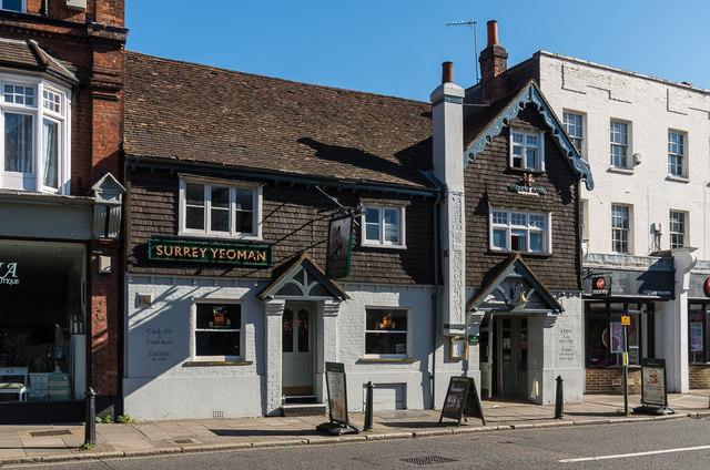 The Surrey Yeoman