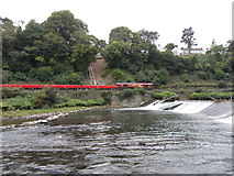 ST1380 : Railway by the Taff by Gareth James
