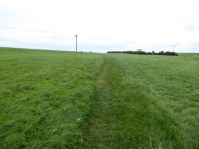 Footpath on Bignall Hill