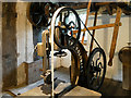 SJ7387 : Inside the Sawmill at Dunham Massey by David Dixon