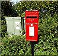 TM0594 : Buckenham Road/Foundry Corner Postbox by Geographer