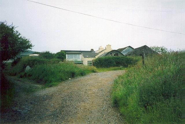 Tracks at Treleddyd-Fawr