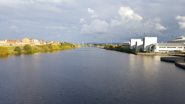 River Tees from the Infinity Bridge
