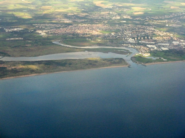 Irvine Bay and the Clyde coast