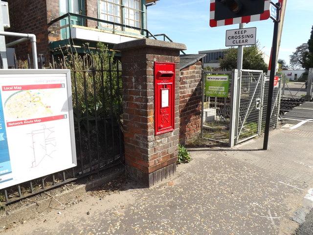 Station Road George VI Postbox