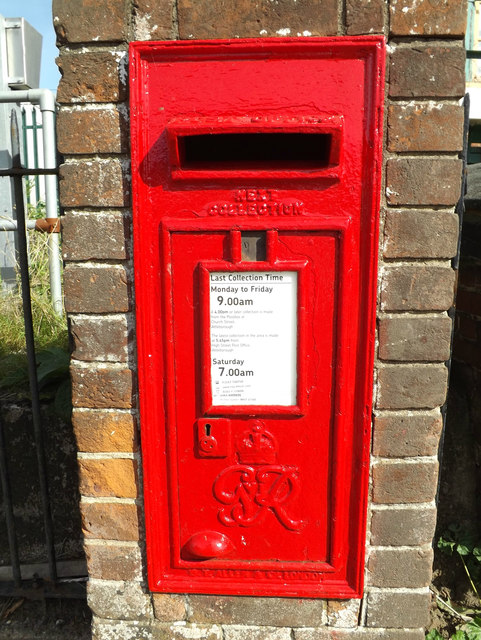 Station Road George VI Postbox