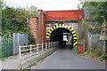 NZ2913 : Railway Bridge ECM5/96, Parkside by Roger Templeman