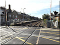 TM0595 : Railway Lines at Attleborough Railway Station by Adrian Cable