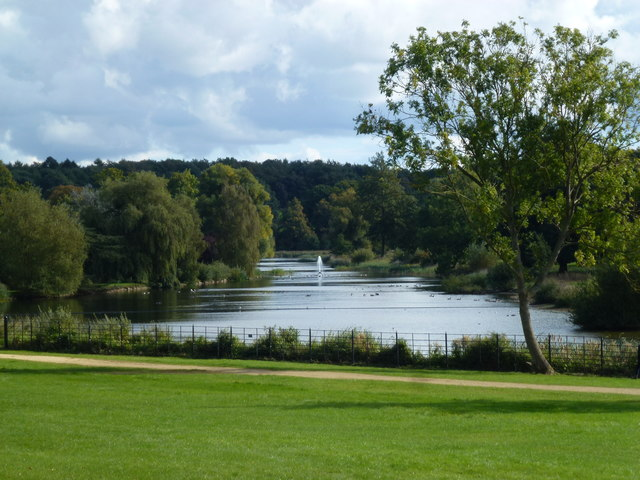 Mr Brown's work at Burghley Park near Stamford