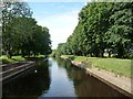 SE5944 : The lock cut at Naburn, on the River Ouse by Christine Johnstone