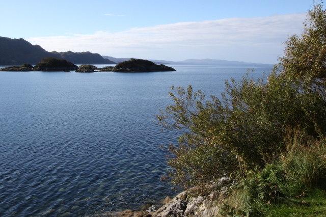 Eilean Gobhlach in Loch Nan Uamh