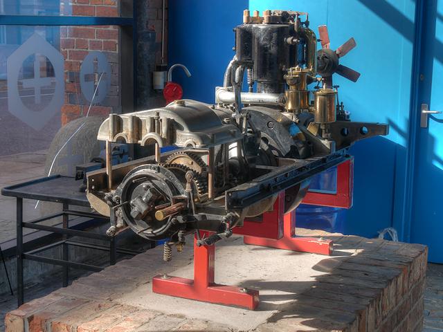 Royce First Engine