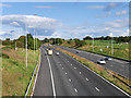 SD5419 : M6 Motorway near Euxton by David Dixon