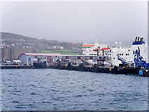 HU4642 : Holmsgarth Ferry Terminal, Shetland by David Dixon