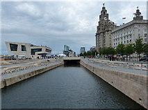 SJ3390 : Liverpool Pier Head by Mat Fascione