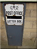 SO8700 : Disused former Post Office letter box, Minchinhampton by Jaggery