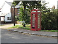 TM0691 : Telephone Box on Old Post Office Terrace by Adrian Cable