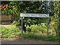 TM0691 : Old Post Office Terrace sign by Adrian Cable