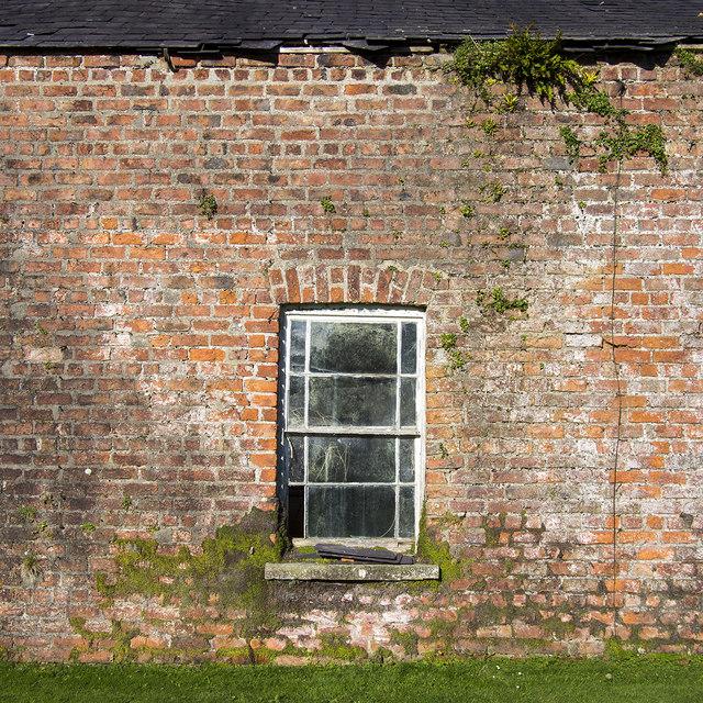 Window, Ballywalter Park