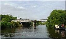 SE5946 : Naburn Bridge from the south-west by Christine Johnstone