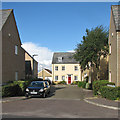 TL4857 : Cherry Hinton: Braybrooke Place by John Sutton