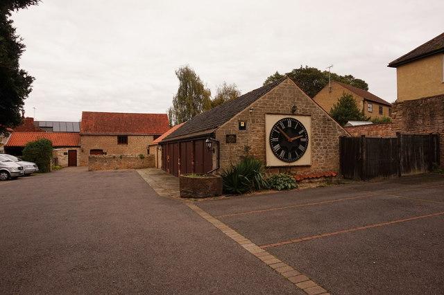 A W Lymn on Church Hill by Ian S