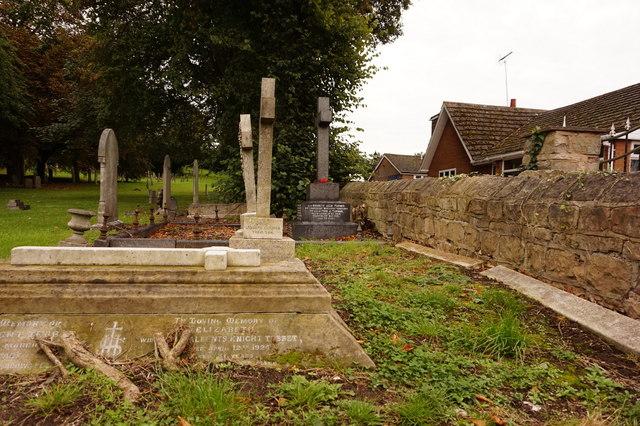 St Edmund's overflow graveyard by Ian S