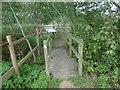 TQ2294 : Footpath to Totteridge Fields by Marathon