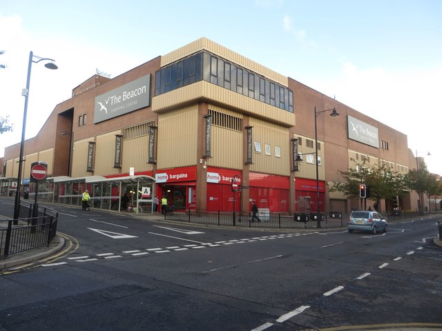The Beacon shopping centre, North Shields