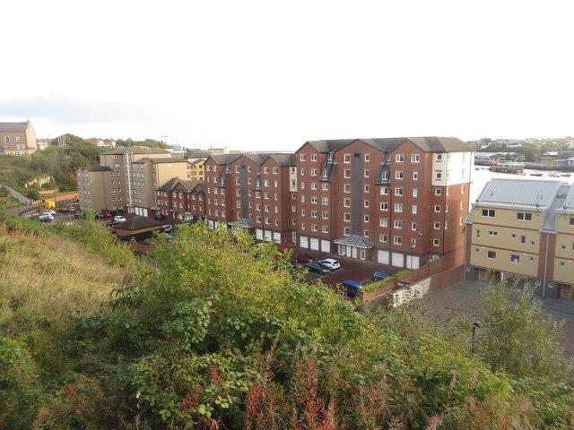 Riverside apartments, North Shields