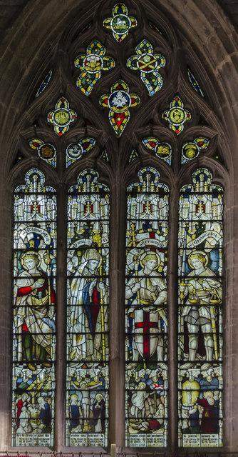 East window, St Mary's church, Wilsford
