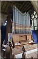 TF0043 : Organ, St Mary's church, Wilsford by Julian P Guffogg