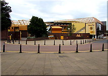 SO9199 : South side of the Molineux Stadium, Wolverhampton by Jaggery