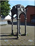 NS3878 : Old drinking fountain, Renton by Lairich Rig