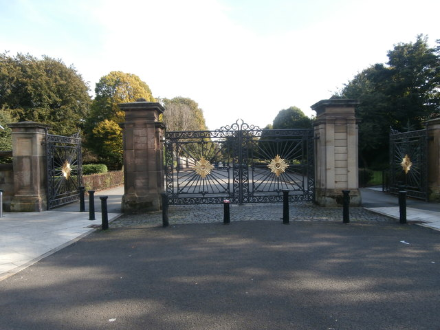 Gateway to Princes Park, Liverpool