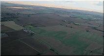 TF3686 : Across the B1200 between Stewton and Manby: aerial 2016 by Chris