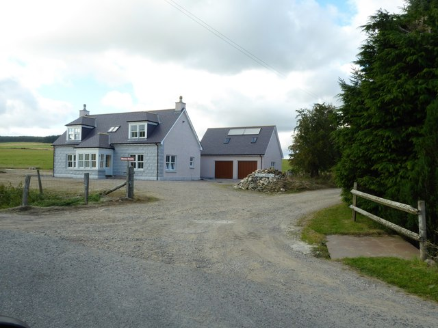 A new dwelling at the access junction for Wester Fowlis farm