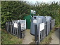 TM1389 : Tibenham Recycle Bins by Adrian Cable