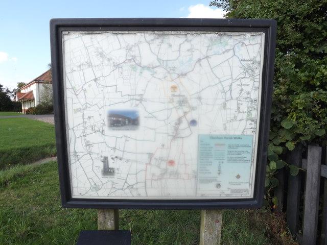 Tibenham Parish Walks Map