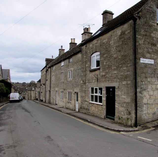 Tetbury Street houses, Minchinhampton