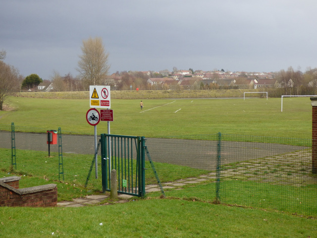Moredun playing fields