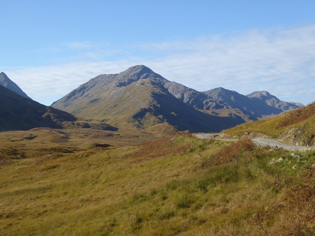 Mountains overlooking Glen Pean