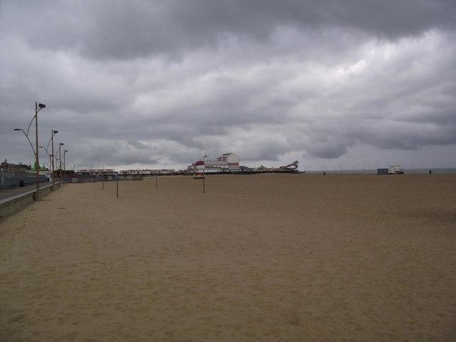The Beach and Britannia Pier