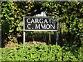TM1389 : Cargate Common sign by Adrian Cable