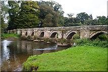 SJ9922 : River Trent - Essex Bridge by John M