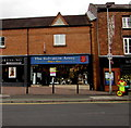 SJ6552 : Salvation Army charity shop in Nantwich town centre by Jaggery