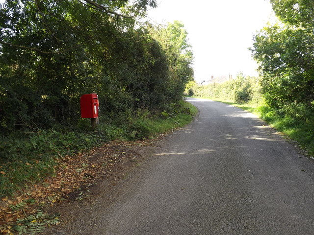 Low Common Road & Low Common Postbox