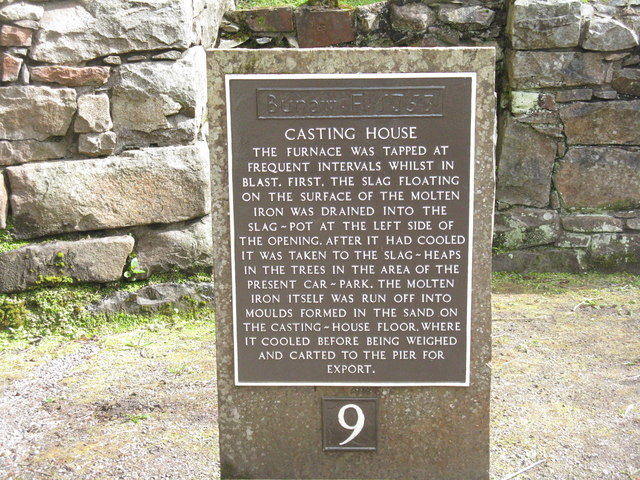 The Casting House at Bonawe